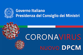 CORONAVIRUS - DPCM DEL 7 OTTOBRE 2020