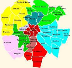 Quartieri di Roma Mappa | Mappa, Roma, Mappe
